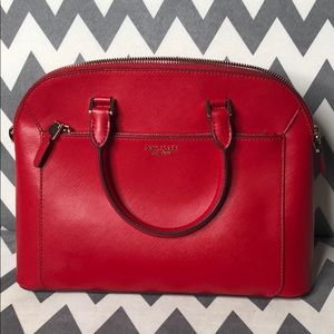 Kate Spade Med Dome Satchel Hotchili